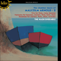 Cover of CDH55072 - Arnold: Chamber Music, Vol. 2