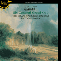 Cover of CDH55075 - Handel: Six Concerti Grossi Op 3