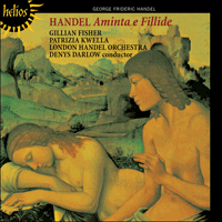 Cover of CDH55077 - Handel: Aminta e Filide