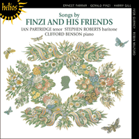 Cover of CDH55084 - Songs by Finzi & his friends