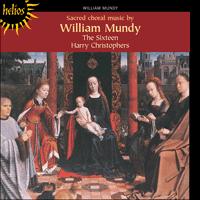 Cover of CDH55086 - Mundy: Sacred Choral Music