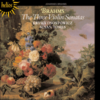 CDH55087 - Brahms: The Three Violin Sonatas