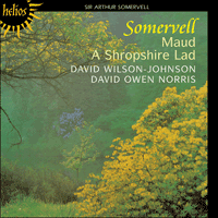 Cover of CDH55089 - Somervell: Maud & A Shropshire Lad