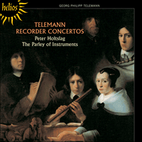 Cover of CDH55091 - Telemann: Recorder Concertos