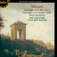 Cover of CDH55092 - Mozart: Wind Serenades
