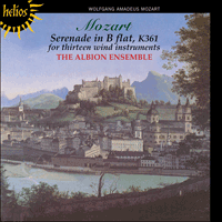 Cover of CDH55093 - Mozart: Serenade in B flat 'Gran Partita'