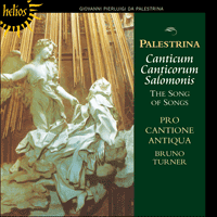Cover of CDH55095 - Palestrina: Canticum Canticorum Salomonis � The Song of Songs