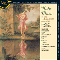 Cover of CDH55096 - Flute Music 16th & 17th century