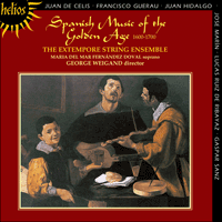 Cover of CDH55098 - Spanish Music of the Golden Age, 1600-1700