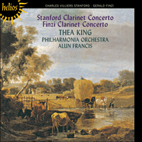 Cover of CDH55101 - Finzi & Stanford: Clarinet Concertos