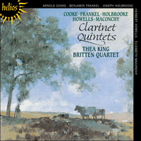 Cover of CDH55105 - Clarinet Quintets