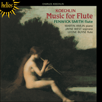 CDH55107 - Koechlin: Music for flute