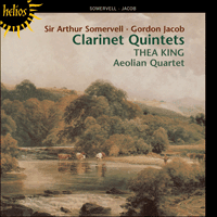 Cover of CDH55110 - Jacob & Somervell: Clarinet Quintets
