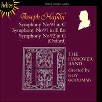 Cover of CDH55125 - Haydn: Symphonies Nos 90-92