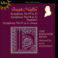 Cover of CDH55126 - Haydn: Symphonies Nos 93-95
