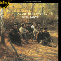 Cover of CDH55133 - Scharwenka: Piano Music, Vol. 3
