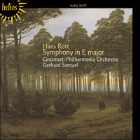 Cover of CDH55140 - Rott: Symphony in E major