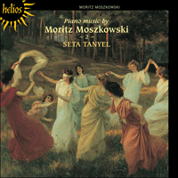 Cover of CDH55142 - Moszkowski: Piano Music, Vol. 2