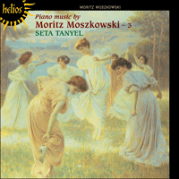 Cover of CDH55143 - Moszkowski: Piano Music, Vol. 3