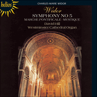 Cover of CDH55144 - Widor: Symphony No 5