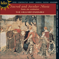 CDH55148 - Sacred and Secular Music from six centuries