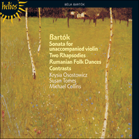 Cover of CDH55149 - Bart�k: Sonata, Contrasts & Rhapsodies