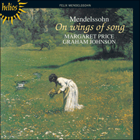 Cover of CDH55150 - Mendelssohn: On wings of song