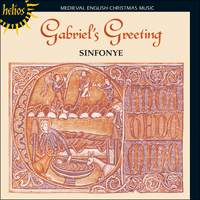 Cover of CDH55151 - Gabriel's Greeting � Medieval English Christmas Music
