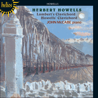 Cover of CDH55152 - Howells: Howells' & Lambert's Clavichord