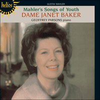 Cover of CDH55160 - Mahler: Songs of Youth