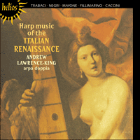 Cover of CDH55162 - Harp music of the Italian Renaissance