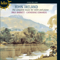 Cover of CDH55164 - Ireland: The complete music for violin and piano