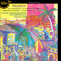 Cover of CDH55168 - Milhaud: Le Carnaval d'Aix & other works