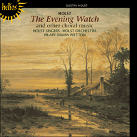 CDH55170 - Holst: The Evening Watch & other choral works