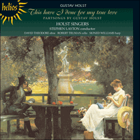 Cover of CDH55171 - Holst: This have I done for my true love