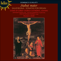 Cover of CDH55172 - Scarlatti: Stabat mater, Salve regina & Sonatas for organ