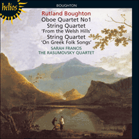 Cover of CDH55174 - Boughton: String Quartets & Oboe Quartet No 1