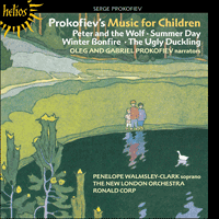 Cover of CDH55177 - Prokofiev: Peter and the Wolf & other music for children