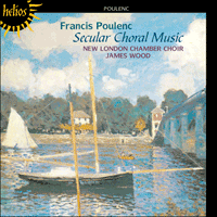 Cover of CDH55179 - Poulenc: Secular choral music