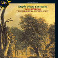 Cover of CDH55180 - Chopin: Piano Concertos