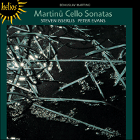 Cover of CDH55185 - Martinu: Cello Sonatas