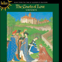 Cover of CDH55186 - The Courts of Love � Music from the time of Eleanor of Aquitaine