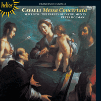 Cover of CDH55193 - Cavalli: Messa Concertata & other works