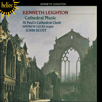 Cover of CDH55195 - Leighton: Cathedral Music