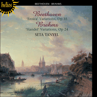 Cover of CDH55201 - Beethoven & Brahms: Variations