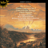 CDH55205 - Howells: Concertos & Dances