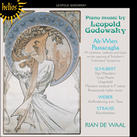 Cover of CDH55206 - Godowsky: Piano Music