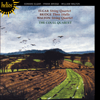 Cover of CDH55218 - Elgar: String Quartet; Bridge: Idylls; Walton: String Quartet