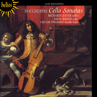 Cover of CDH55219 - Boccherini: Cello Sonatas