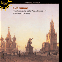 CDH55224 - Glazunov: The Complete Solo Piano Music, Vol. 4